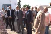 كواليس الحدث   :  زيارة والي منوبة لمدرسة السعيدة