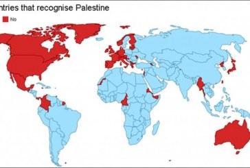 من الدول التي تعترف بالدولة الفلسطينية؟