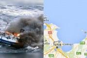 الهوارية : احتراق وغرق مركب صيد وفقدان 5 بحارة كانوا على متنه