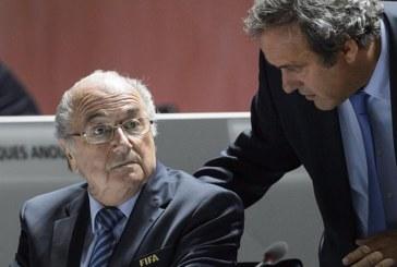 الفيفا يعاقب بلاتر وبلاتيني بالإيقاف 8 سنوات