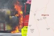 نجاة 44 تونسيّا من حريق نشب في حافلة سياحيّة