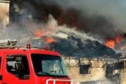 """تطاوين: حريق هائل بمصنع للملابس المستعملة """"فريب"""""""
