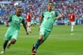 بالفيديو.. كرسيتيانو رونالدو و ناني يمضيان تأهل البرتغال إلى نهائي أورو 2016