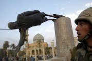 بعد تحطيمه لتمثال صدام حسين سنة 2003: أنا نادم و أتمنى لو يعود