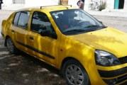 """الشرطة العدلية بمنطقة باب بحر تلقي القبض  على سائق سيارة """"التاكسي"""" المتورط في جريمة قتل الشاب """"بلال"""" فجر اليوم"""