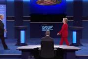بالفيديو : ماذا حدث في أول مناظرة بين هيلاري وترامب؟