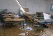 القيروان:سقوط سقف أحد الأقسام بمدرسة الهدى