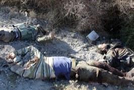 """انتشال 266 جثة لمقاتلي """"داعش"""" وأسر 30 إرهابيا في سرت الليبية"""