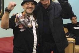 في موكب تأبين كاسترو: حمة الهمامي يظهر رفقة مارادونا