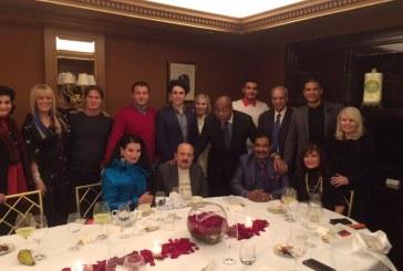 السيد محمد عياشي العجرودي يلتقي بفريق ترامب وشخصيات عالمية أخرى..