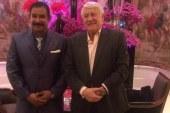 """لقاء العجرودي  مع الوزير الفرنسي السابق """" كلود قوسقان"""""""