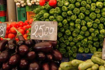 المعهد الوطني للاحصاء :ارتفاع نسبة التضخم الى 4.6 % وأسعار الخضر الى 15.6%