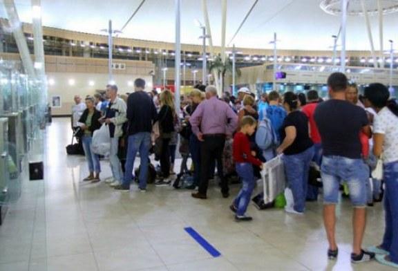وصول 360 سائح بلجيكي إلى مطار النفيضة