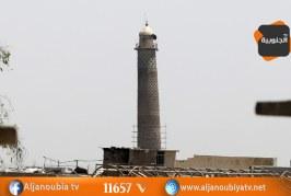 فيديو..داعش يفجر مسجد النوري بالموصل