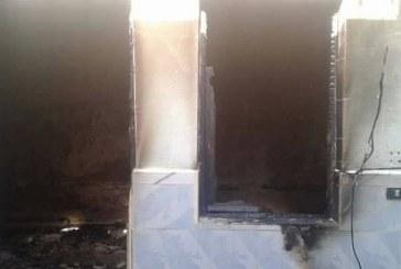 توزر : حرق منزل أمنيَين