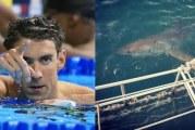 مايكل فيلبس يخسر سباقه أمام القرش الأبيض ( فيديو )
