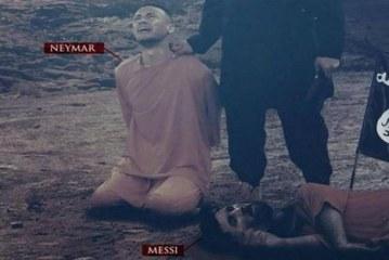 داعش الارهابي يهدد نيمار