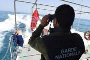 حلق الوادي ..إيقاف 3 أشخاص بصدد إجتياز الحدود البحرية خلسة