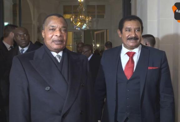 Diner en l'honneur de son excellence monsieur Denis Sassou-Nguesso organisé par monsieur Mohamed Ayachi Ajroudi