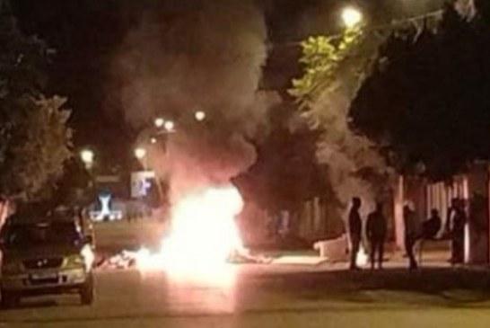 الشيباني: حجز 5127 إطارا مطاطيا مُعدة للاستعمال في الإحتجاجات الليليّة