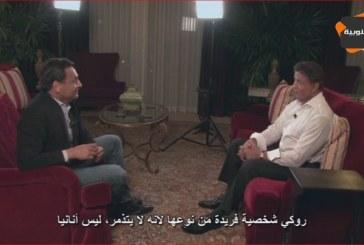 """الجنوبية في قلب هوليود Al janoubia au coeur de hollywood ""  مع النجم السينمائي Sylvester Stallone"