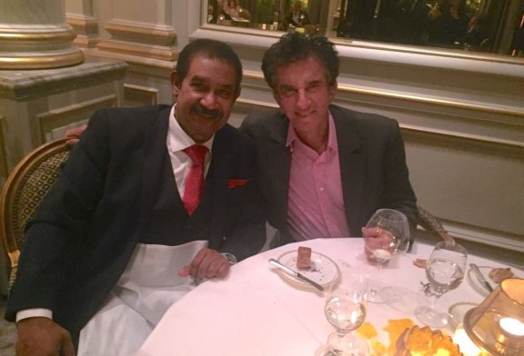 السيد محمد العياشي العجرودي يلتقي Jack Lang بباريس