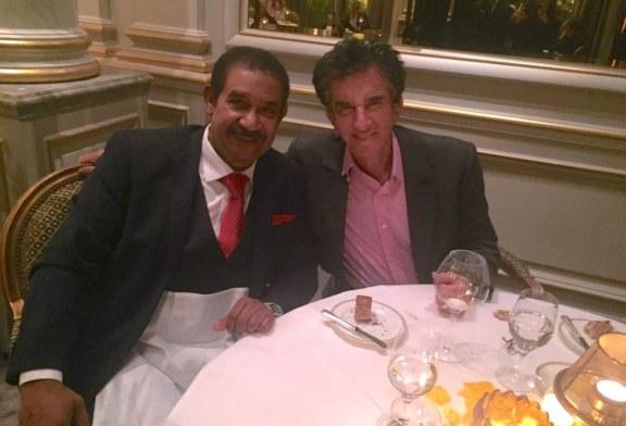 باريس:العجرودي يلتقي السيد Jack Lang وزير الثقافة الفرنسي السابق و مدير معهد العالم العربي
