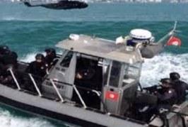 نابل: جيش البحر ينقذ مهاجرين غير نظامين تعطل مركبهم في عرض البحر
