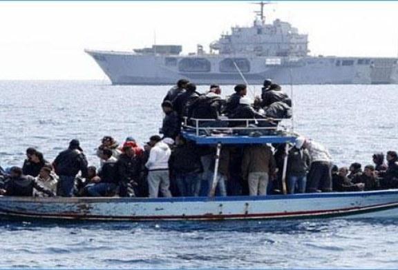 الجيش التونسي ينقذ 11 حارقا تونسيا جنوبي لمبادوزا