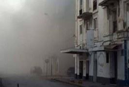 بنزرت: حريق هائل بإحدى المغازات بباب الرمل (صور)