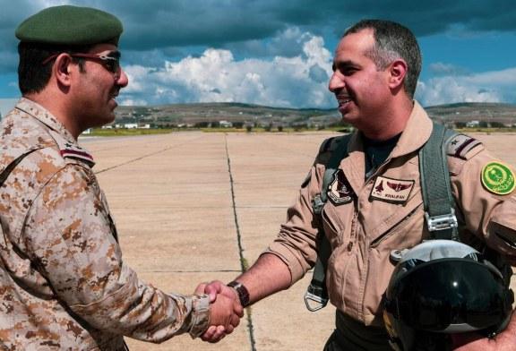اكتمال وصول طائرات القوات الجوية الملكية السعودية المشاركة في المناورات الجوية السعودية التونسية