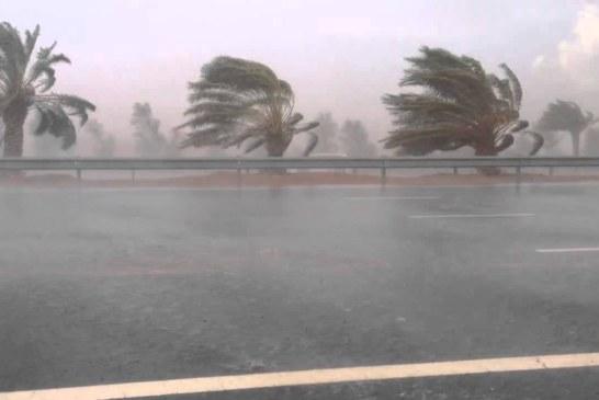 الرصد الجوي يُحذر سكان 12 ولاية : كميات الأمطار ستصل الى 120 مليمترا