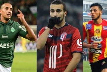 فرانس فوتبول: البدري والخزري والسليتي ضمن قائمة افضل لاعب مغاربي لسنة 2018