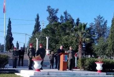 وزير الدفاع الوطني يتفقد القاعدة العسكرية بمسجد عيسى والقاعدة البحرية بالمنستير