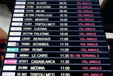 رحلات ملغاة واضطراب وتوتر كبير داخل مطار تونس قرطاج