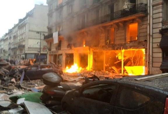 انفجار ضخم فى العاصمة الفرنسية باريس