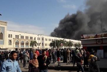 ارتفاع عدد ضحايا حريق القاهرة