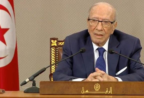 """رئيس الجمهورية يشدد على ضرورة ايقاف """"السياحة البرلمانية"""""""