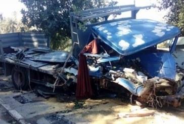 سكرة: وفاة 5 أشخاص في حادث مرور مريع
