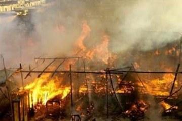 اريانة: حريق يأتي على نحو 10 هكتارات من غابة سيدي عمر برواد