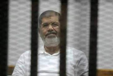وفاة الرئيس المصري السابق محمد مرسي اثناء جلسة محاكمته