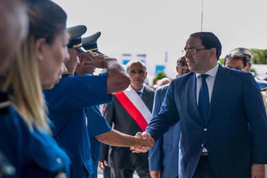 طبرقة: رئيس الحكومة يطلّلع على اشغال توسعة المعبر ملّولة الحدودي