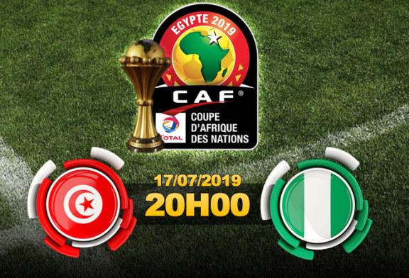 كان مصر 2019 : المباراة الترتيبية – تونس من أجل حفظ ماء الوجه امام نسور نيجيريا