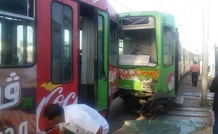 شركة نقل تونس: خطأ بشري وراء اصطدام المترو رقم 5 بأخر