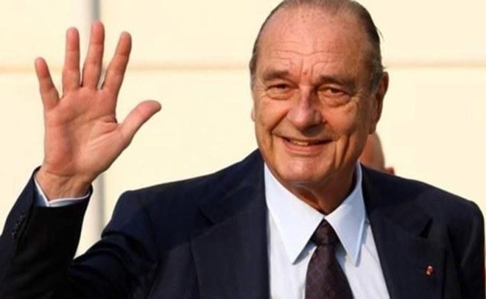 وفاة الرئيس الفرنسي جاك شيراك