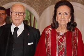 شادلية فرحات أرملة رئيس الجمهورية الراحل الباجي قائد السبسي في ذمة الله