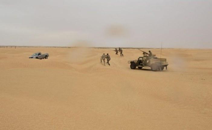 تطاوين : التشكيلات العسكرية تحجز سيارة مشبوهة