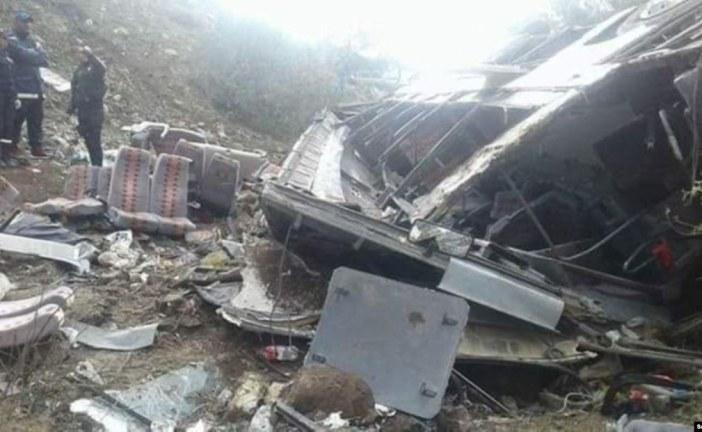 ارتفاع عدد ضحايا انقلاب حافلة سياحية في منطقة السنوسي إلى 24 حالة وفاة و18مصابا آخرين (حصيلة محيّنة)
