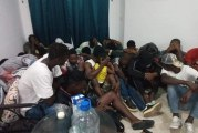 شط مريم : الحرس الوطني يضبط 36 افريقي بصدد التحضير لاجتياز الحدود البحري خلسة ( الصور )