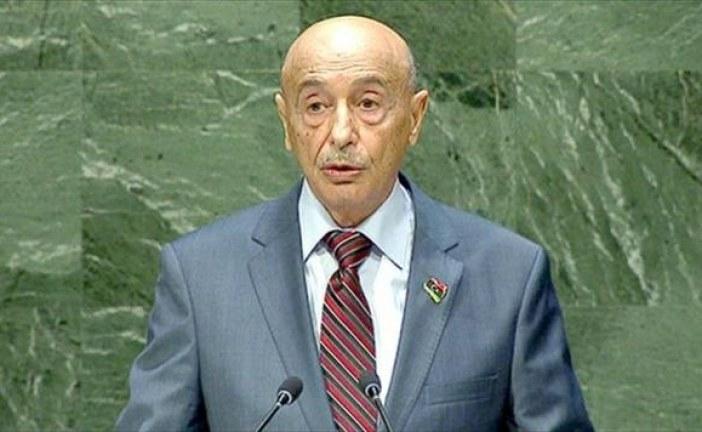 عقيلة صالح: سرت قد تكون مقرا للسلطة التنفيذية.. ومصر ليس لديها أطماع في ليبيا  الأربعاء ,